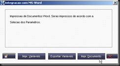 GPEWriter : Exportar Variáveis : Imprimir Documento
