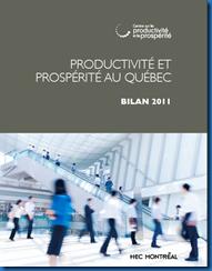 Productivité Québec 2011