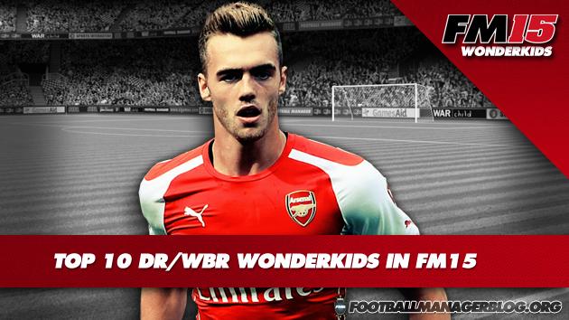 Top 10 DR WBR Wonderkids in FM15