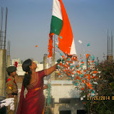 Republic Day Celebrations at Santoshnagar Girls Campus