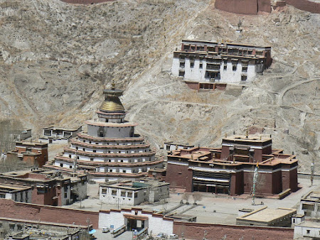 Tibet travel: visiting Gyantse
