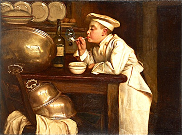 Joseph Bail, Les bulles de savon