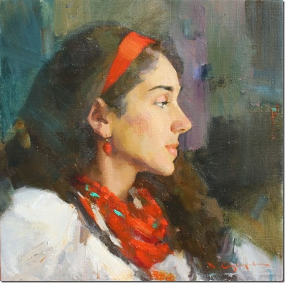 Portrait of Maria-Vadim-Suvorov-ENKAUSTIKOS