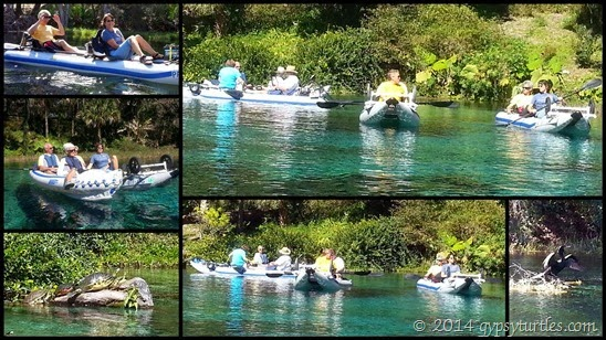 Rainbow River Paddle 1
