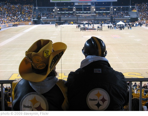 'Behind the seats of Steelers Fans' photo (c) 2009, daveynin - license: http://creativecommons.org/licenses/by/2.0/