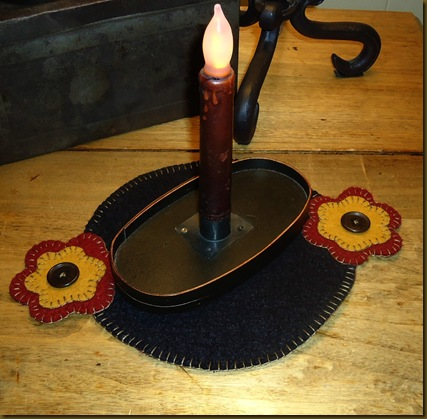 Flower Candle Mat 1