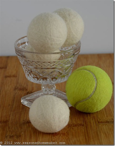 Felted Wool Dryer Balls 14