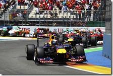Vettel vince il gran premio d'Europa 2011