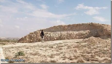 Muralla del Cabezo pequeño del Estaño - Guardamar
