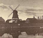 """Mühle am Osterholzer Hafen; aus J. Segelken """"Heimatbuch"""", 1938"""