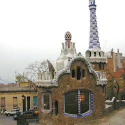 59.- Gaudí. Parqüe Guell