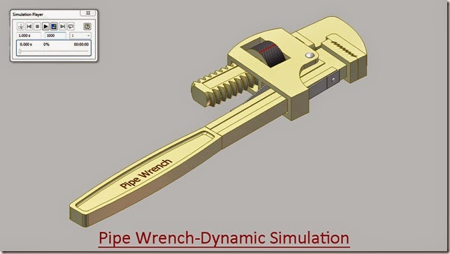Pipe Wrench-Dynamic Simulation