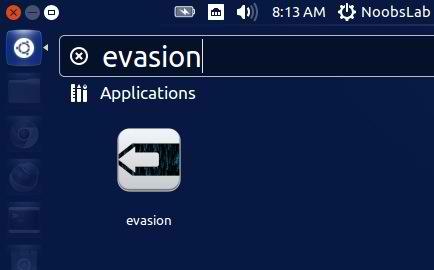 Evasi0n su Ubuntu Unity