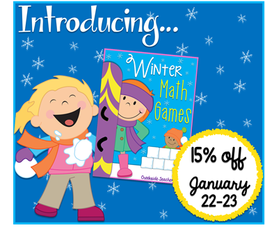 winter math game blog