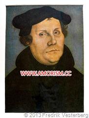 DSC04382 Reformatorn professor Martin Luther bearbetad av Fredrik Vesterberg med amorism
