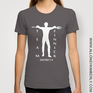 Catching Fire Team Finnick T-Shirt | allonsykimberly.com