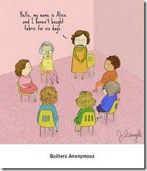 quilters anonymous cartoon