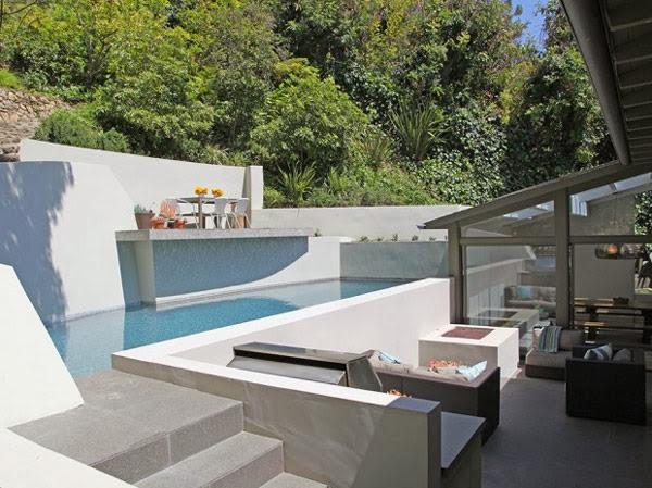 terraza-piscina-casa-dexter-Hollywood Hills Los Ángeles