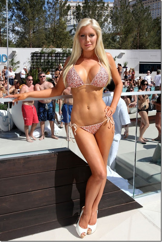 sexy heidi montag bikini 2