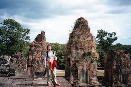 Obiective turistice Cambogia: Templu hindus Angkor Wat