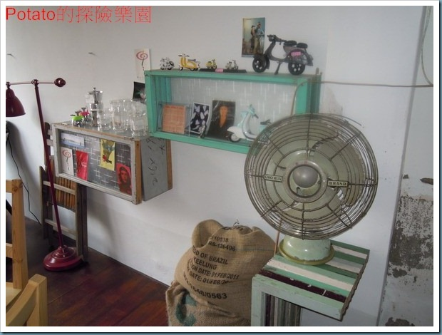 Potato的探險樂園: 甘單咖啡館老房子、簡單的咖啡