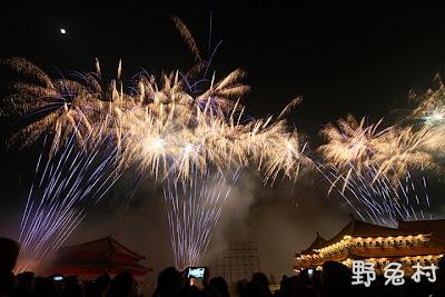 [臺南-活動] 2013 鹿耳門聖母廟高空煙火秀之煙霧瀰漫