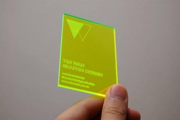amazing radium business card