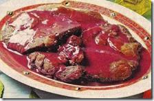 Bistecche con salsa al porto