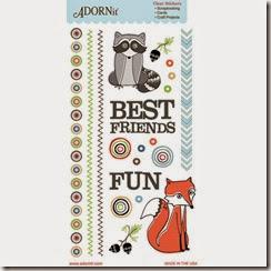 91584-Critter-Friends-Clear-Sticker3-inch