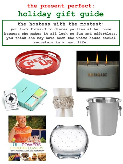 2011.12.07 - Holiday Gift Guide - The Hostess