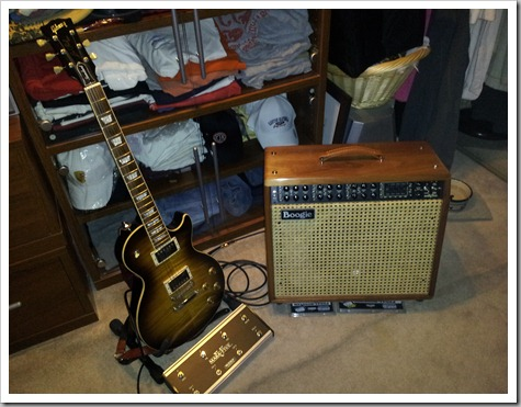 Bob's NEW Mesa Boogie Mark V Combo Amp (003)