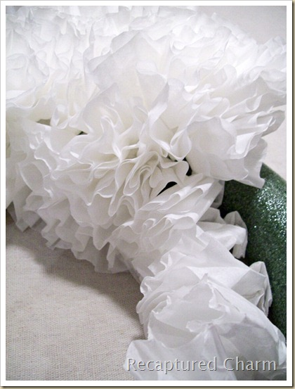 Coffee Filter Wreath 005a