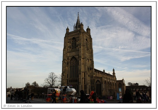 The Church of St Peter Mancroft in Norwich