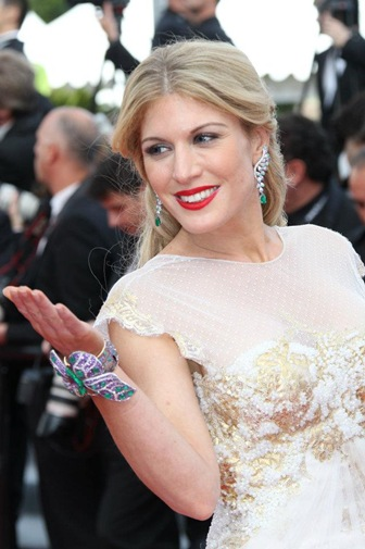 The Gorgeous Hofit Golan at Cannes On Her Smiling Fresh Looks
