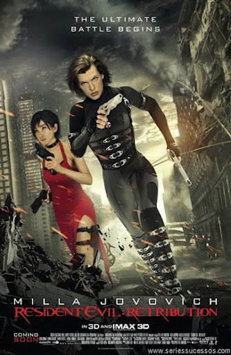 Filme Poster Resident Evil 5 – Retribuição TS XviD & RMVB Legendado