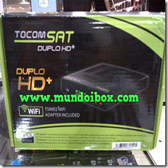 TOCOMSAT DUPLO HD   (PLUS)