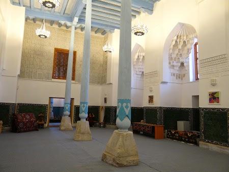 24. Interiorul Moscheii Ulugbek.JPG