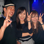 party time at star fire in Ginza, Tokyo, Japan