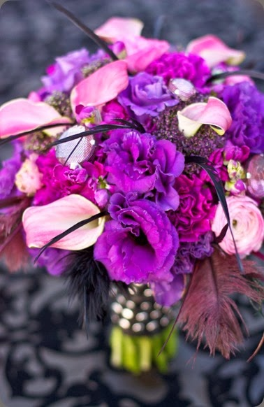 feathers purple_and_pink_bouquet-682x1024 botanica floral designs