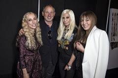 Franca Sozzani;-;Donatella Versace;Dijan Babette