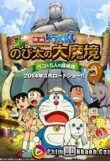 Nobita Thám Hiểm Vùng Đất Mới - Doreamon Nobita And The New Great Haunts Of Evil
