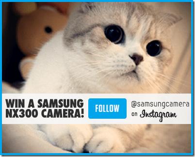 Samsung Camera Giveaway