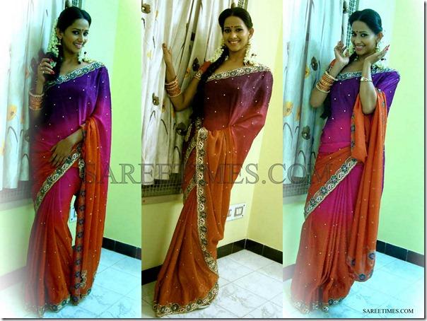 Sanjana_Singh_Tricolor_Saree