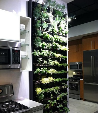 12. INDOOR HERB GARDEN