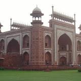 Taj Mahal : la mosquee