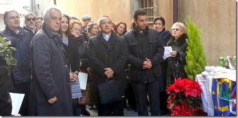 Il vescovo Gisana in via San Liborio