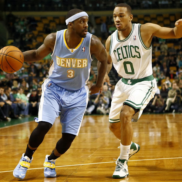 Ty Lawson8217s SOLDIER 7 Player Edition Denver Nuggets Nike ID8217s
