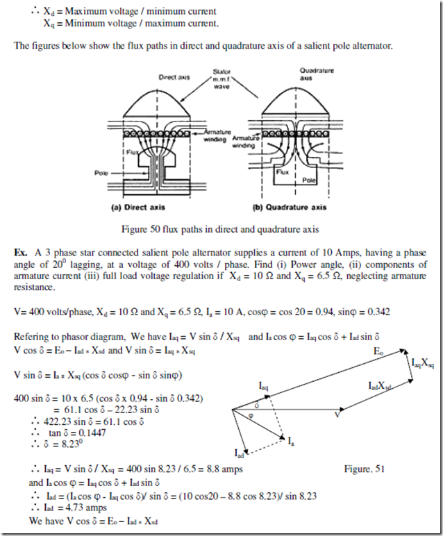 Synchronous machines notes part2 electric equipment image ccuart Gallery