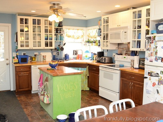 "Our kitchen, ""in-progress"""