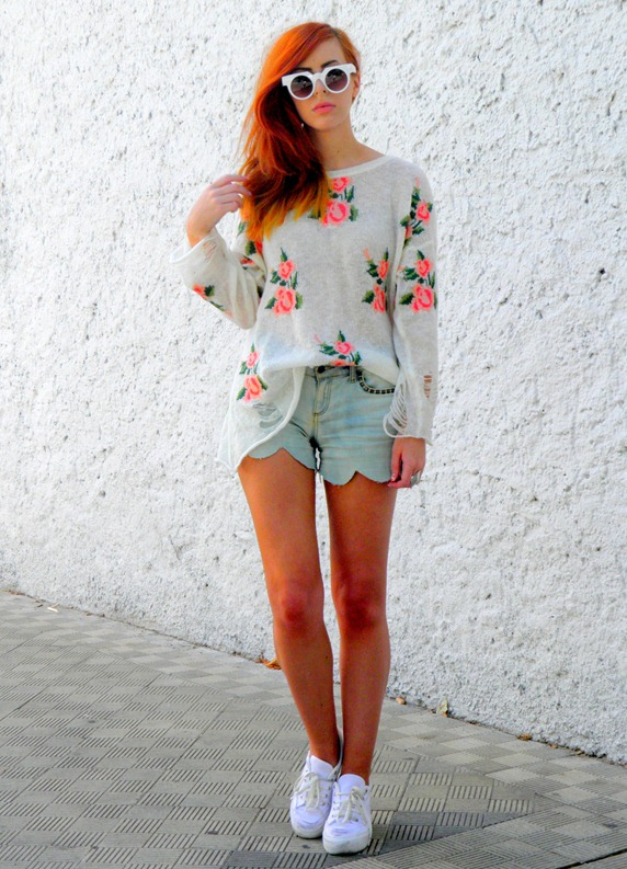ROMWE FLORAL JUMPER 2